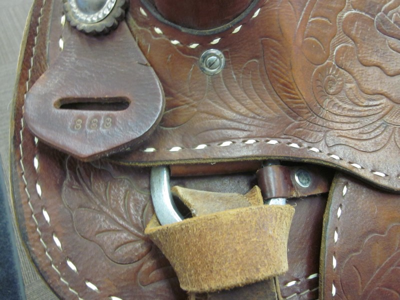 WESTERN SADDLE MEXICAN MADE