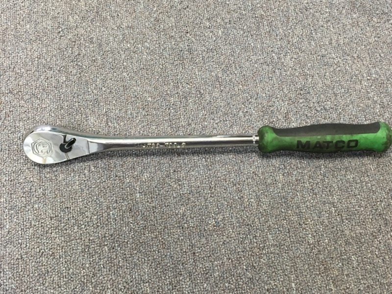 "Matco - 1/2"" Drive Ratchet - 15"" 88th - Green - CFR158TG"