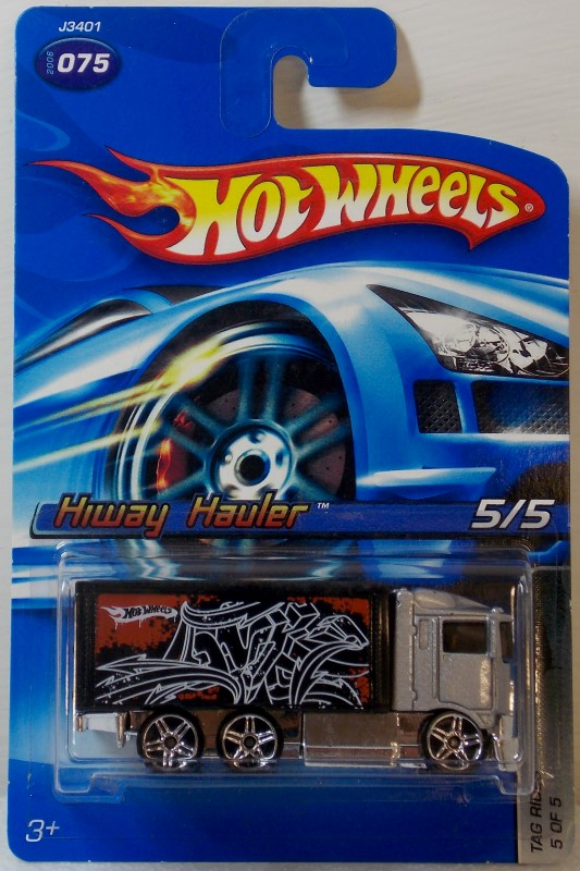 HOT WHEELS: 2006 SERIES, 5 CARS ONLY