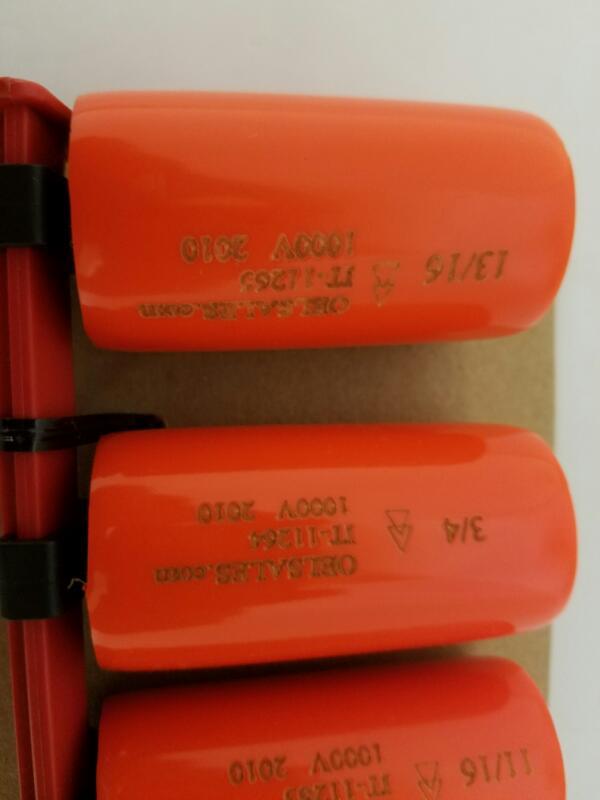 OEL 8 PIECE INSULATED SOCKET SET Standard SAE