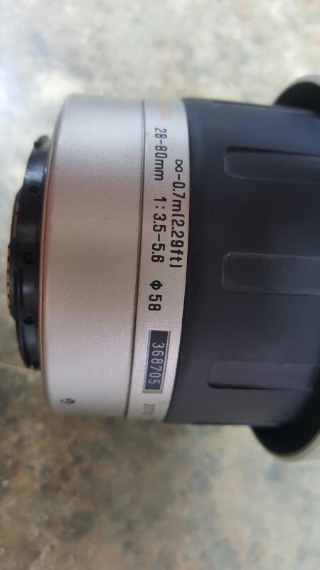 TAMRON Lens/Filter 28-80MM