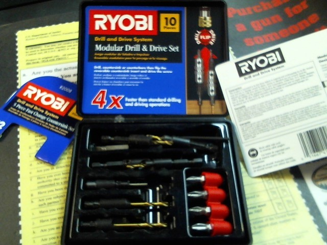 RYOBI Miscellaneous Tool DRILL BITS