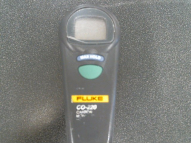 FLUKE Multimeter CO220 CARBON MONOXIDE METER