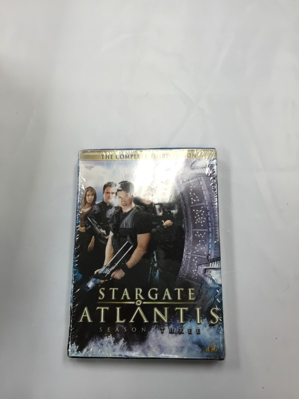 STARGATE ATLANTIS SEASON 3 Dvd Box Set Sealed!