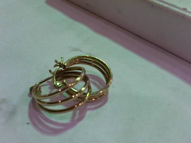 Gold Earrings 10K Yellow Gold 1.9g