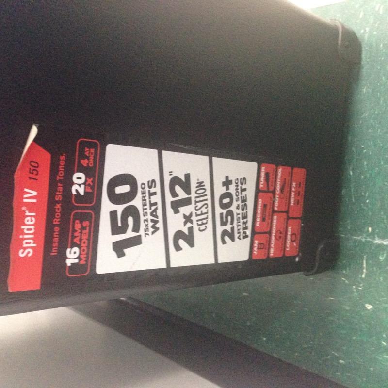 Line 6 Spider IV 150 Watt 2x12 Guitar Combo Amplifier *Pickup Only*