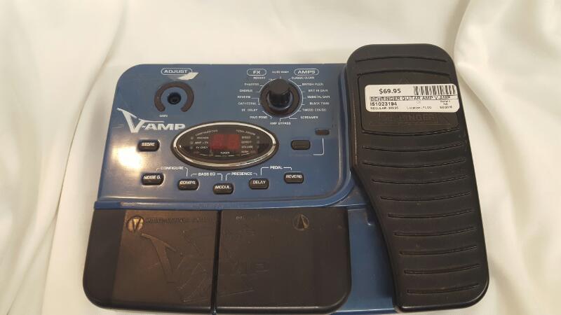 BEHRINGER Electric Guitar Amp V-AMP