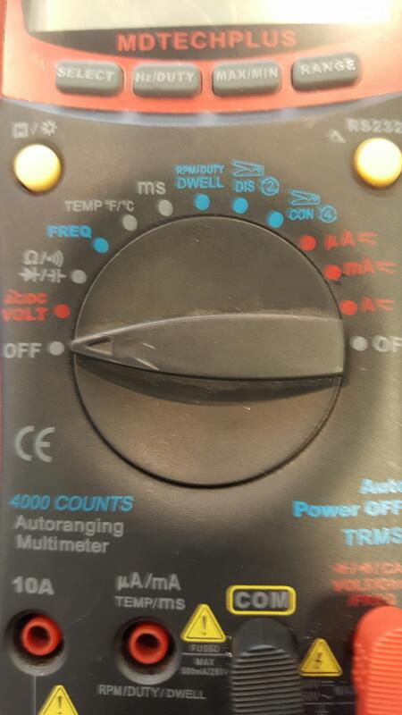 MATCO TOOLS Multimeter MDTECHPLUS