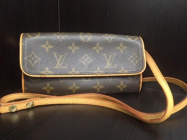 LOUIS VUITTON Handbag POCHETTE TWIN PM SHOULDER BAG MONOGRAM M51854