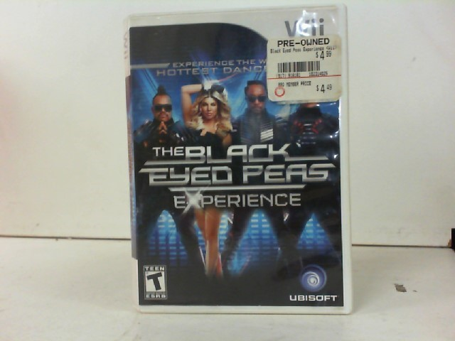NINTENDO Nintendo Wii Game THE BLACK EYED PEAS EXPERIENCE