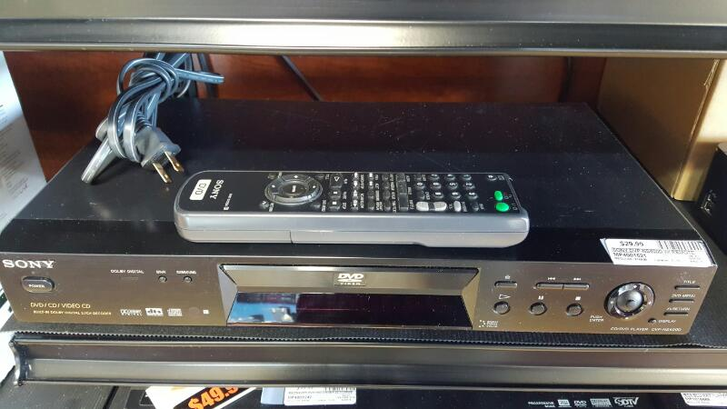 SONY DVD Player DVP-NS400D