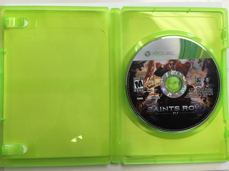 Saints Row IV -Commander in Chief Editon -(Microsoft Xbox 360, 2013)