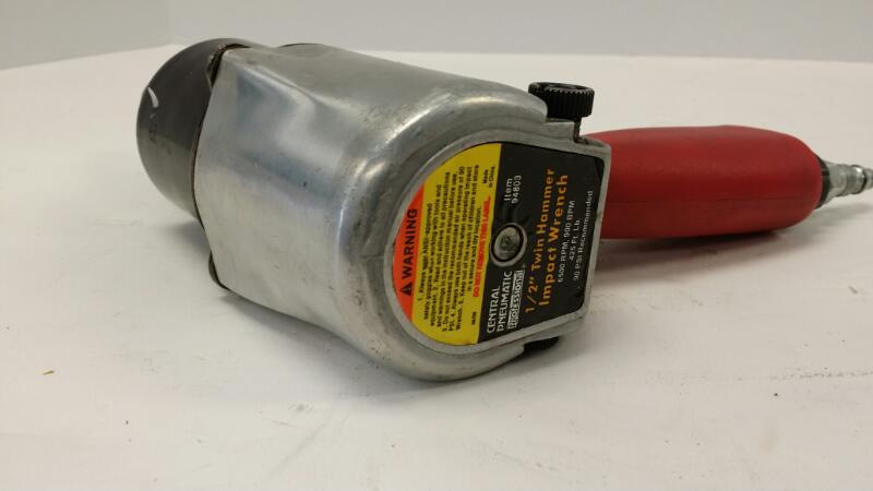 "L@@K!!! CENTRAL PNEUMATIC Air Impact Wrench 94803 1/2"" IMPACT WRENCH"