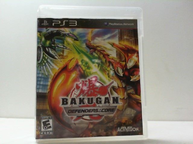 SONY Sony PlayStation 3 Game BAKUGAN DEFENDERS OF THE CORE