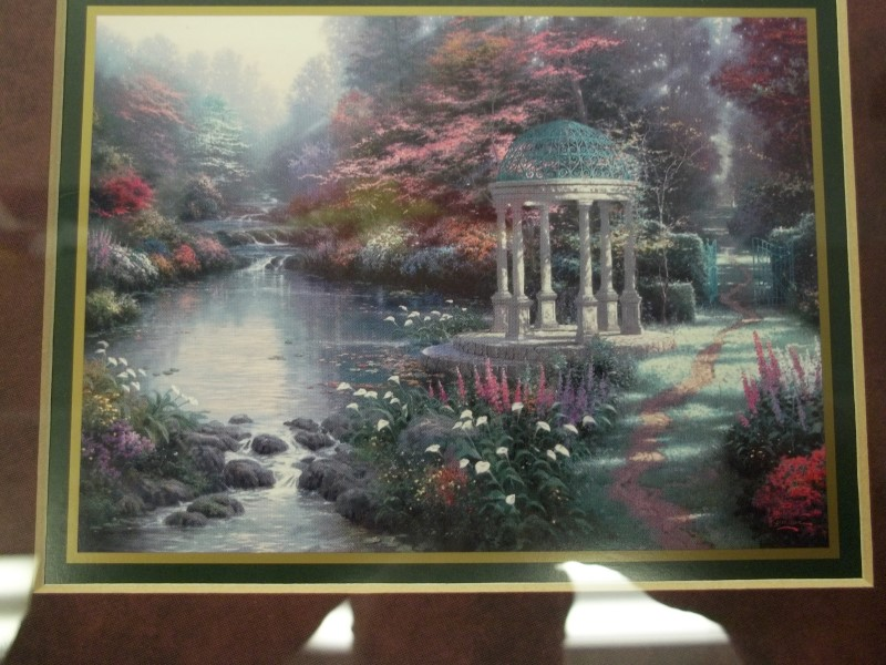 "THOMAS KINKADE ""PEACEFUL RETREAT"