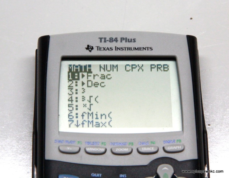 TEXAS INSTRUMENTS Graphing Calculator TI-84 PLUS