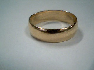 Gent's Gold Wedding Band 10K Yellow Gold 3.4g Size:9