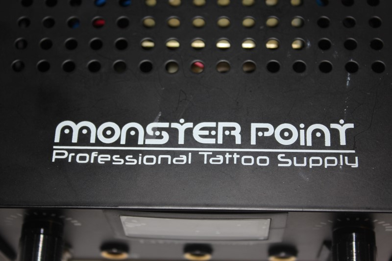 MONSTER POINT TATTOO POWER SUPPLY