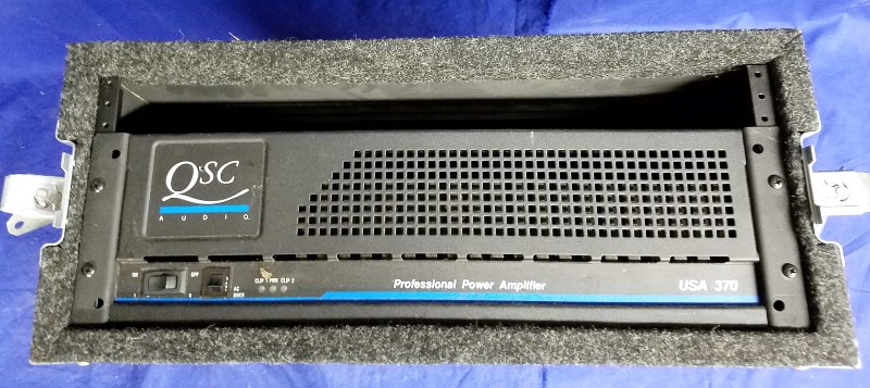 QSC AUDIO PA SYSTEM 370