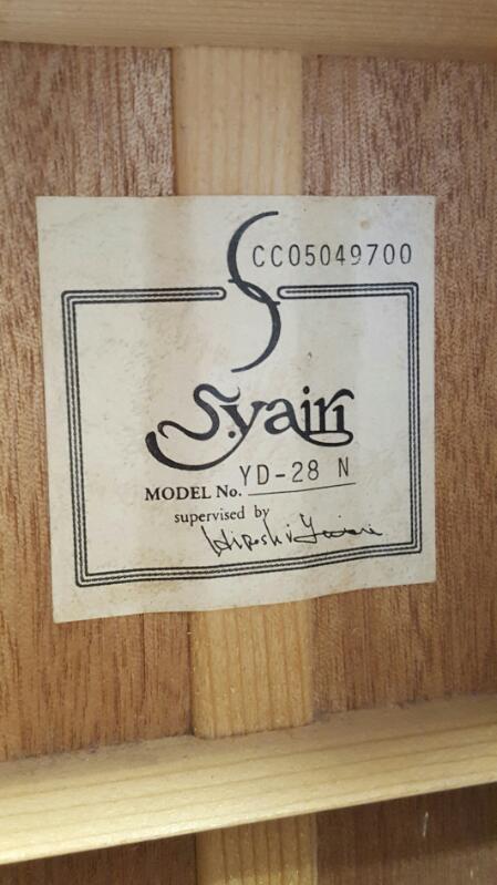 SYAIRI Acoustic Guitar YD-28