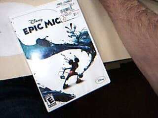 NINTENDO Nintendo Wii Game DISNEY EPIC MICKEY ~ WII