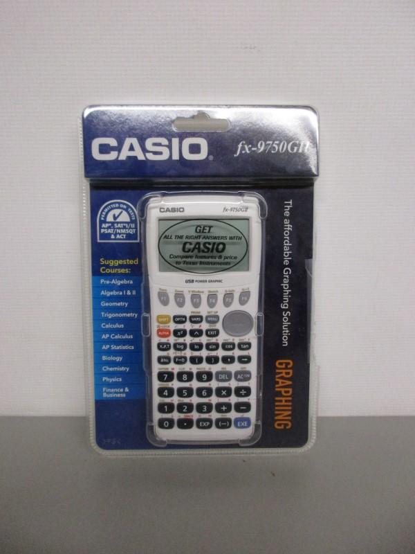 CASIO FX-9750G2 CALCULATOR