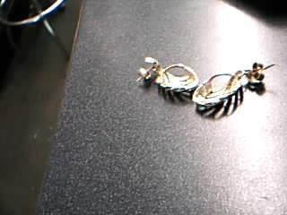 Gold Earrings 9K Yellow Gold 4.37g