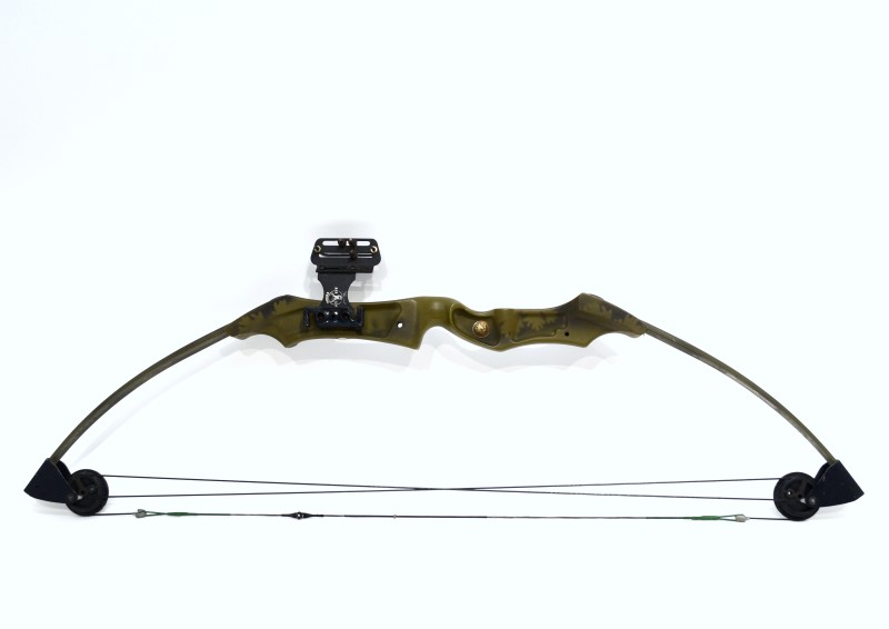 """Bear Archery Black Mag Compound Bow Right Handed 29"""" Draw Length>"""