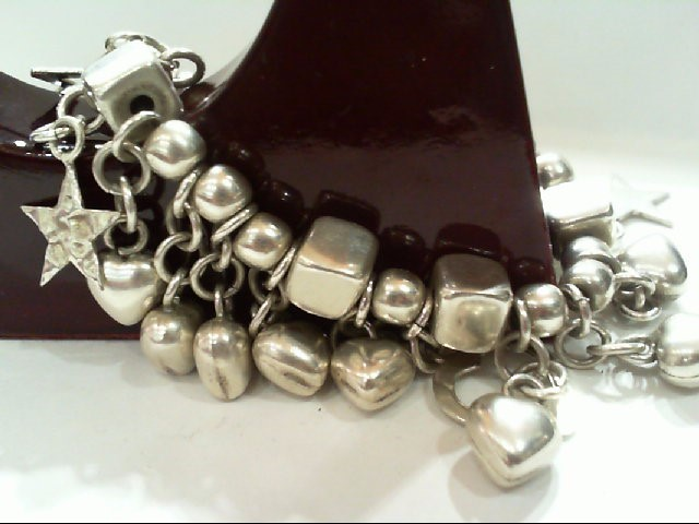 Silver Bracelet Silver Plate 41.5g