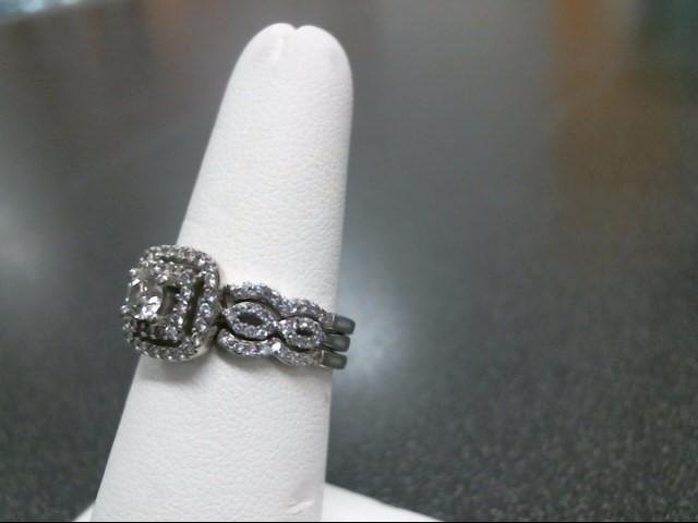 Lady's Diamond Wedding Set 105 Diamonds 1.29 Carat T.W. 10K Yellow Gold 5.7g