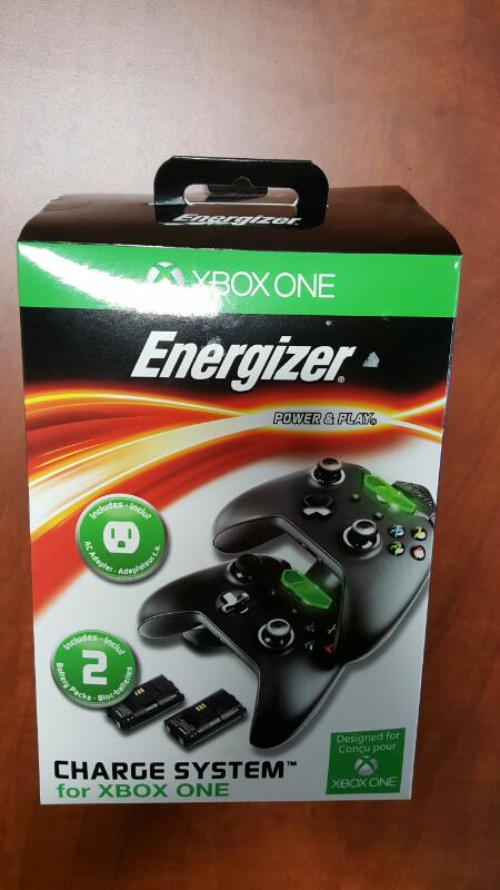 ENERGIZER Video Game Accessory XBOX ONE CHARGE SYSTEM
