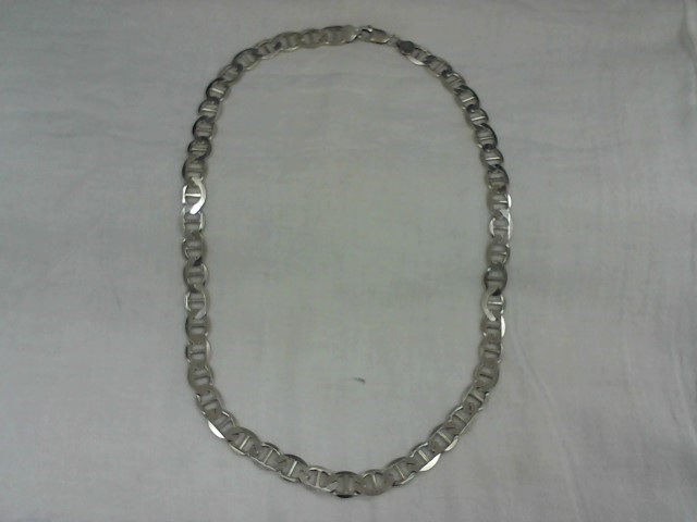 "26"" Silver Link Chain 925 Silver 47.2g"