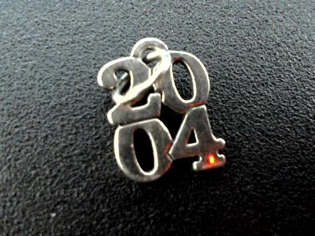 Silver Charm 925 Silver 0.04dwt
