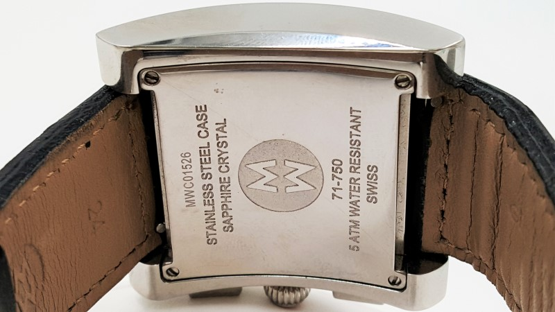 Michele MW2 Chronograph 71-750 MWC00124 Unisex Stainless Steel Watch