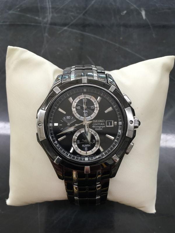 SEIKO Gent's Wristwatch COUTURA 100M SEKIO COUTURA