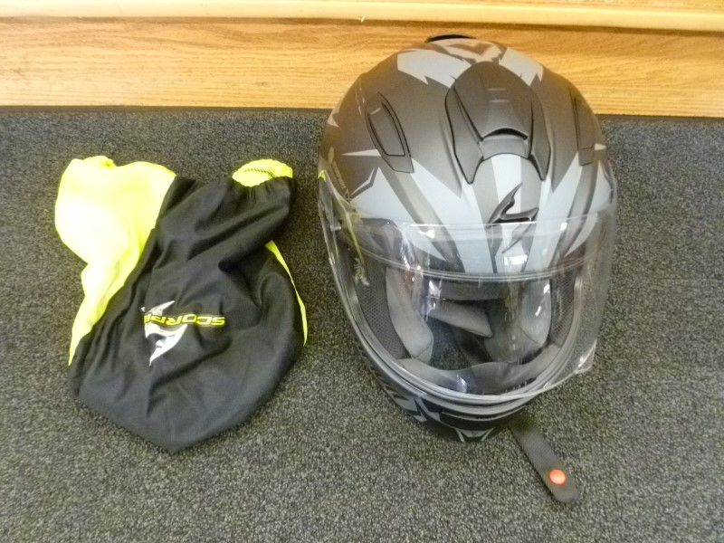 SCORPION EXO-T510 SOLID FULL-FACE MOTORCYCLE HELMET WITH SOFT CASE (SIZE SMALL)