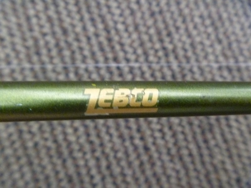 ZEBCO GATORBACK POLE WITH OLDER SYNERGY REEL