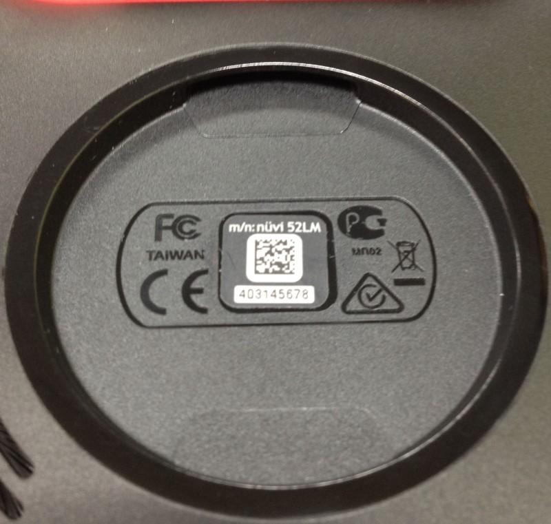GARMIN GPS System NUVI 52LM