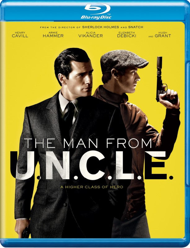 Blu-Ray THE MAN FROM U.N.C.L.E.