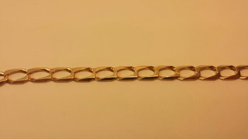 """14k Yellow Gold Bracelet 6.7dwt - Size 7.5"""""""