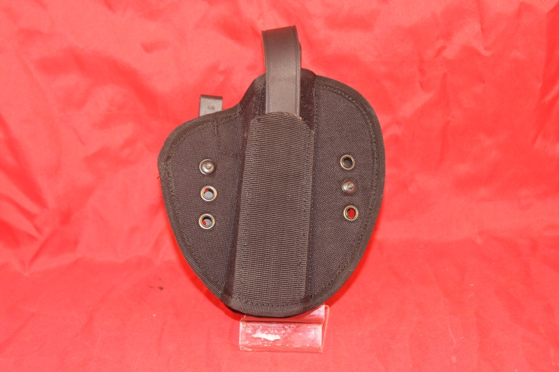 Uncle Mikes IWB Tuckable Holster Blk Sz19 Ambidextrous Blistr, 55190