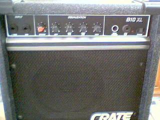 """CRATE Electric Guitar Amp B-10XL 1-8"""" CRATE CUSTOM B SPK"""