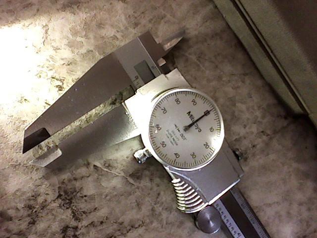 """MITUTOYO Micrometer 505-677 12"""" DIAL CALIPER"""