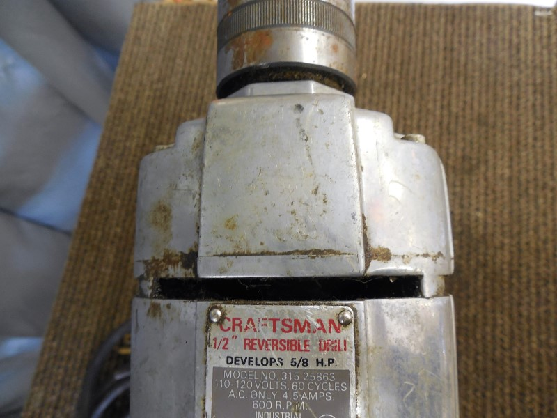 CRAFTSMAN CORDED DRILL 315.25863