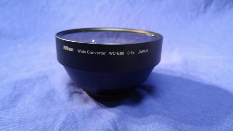 NIKON WC-E80 WIDE ANGLE CONVERTER
