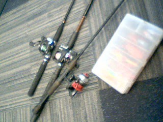 Fishing Rod & Reel QUANTITY - FISHING POLES