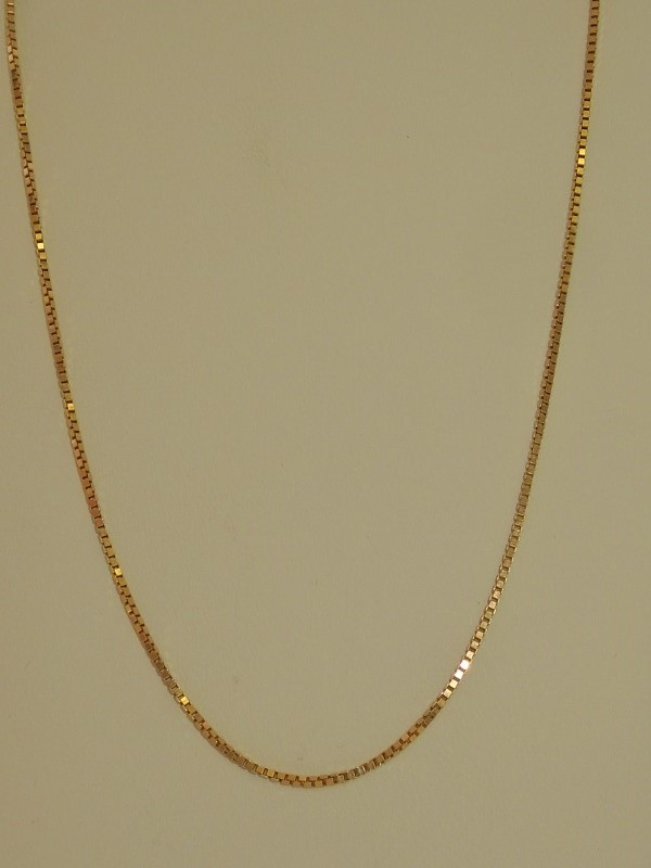 "20"" Gold Chain 14K Yellow Gold 4.6g"