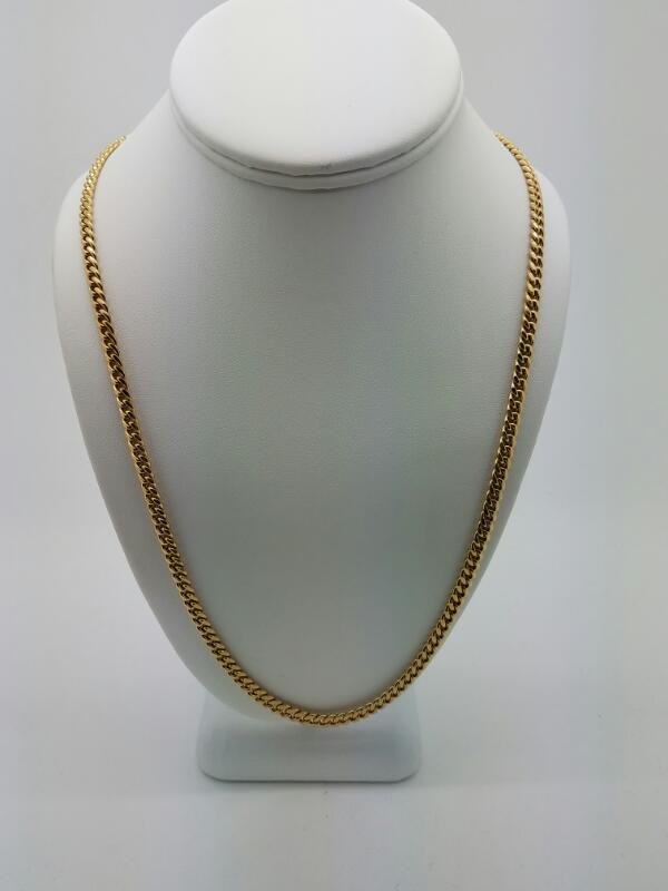 "24"" L'S 10KT Gold Chain C LINK 10K Yellow Gold 25.9dwt"