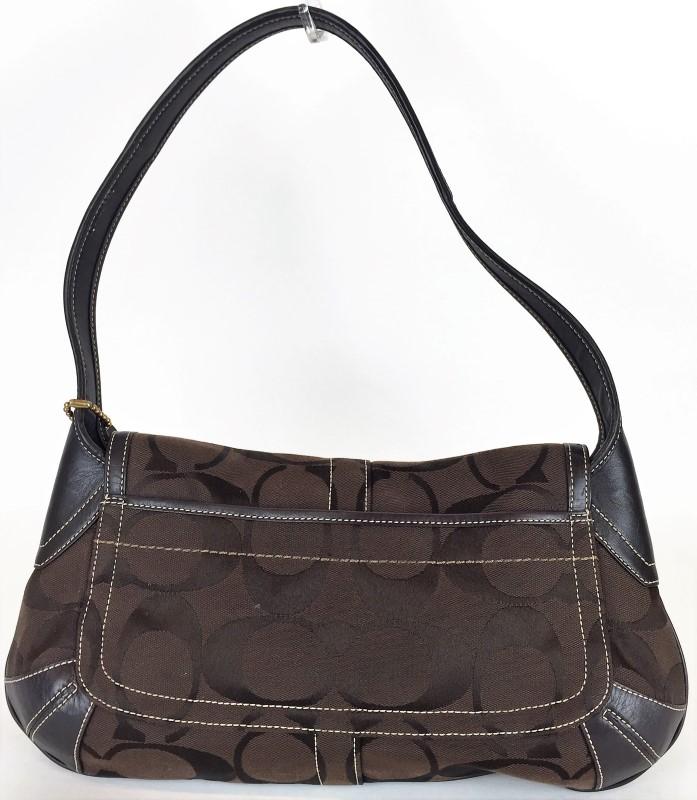 COACH 11257 BROWN MONOGRAM BAG