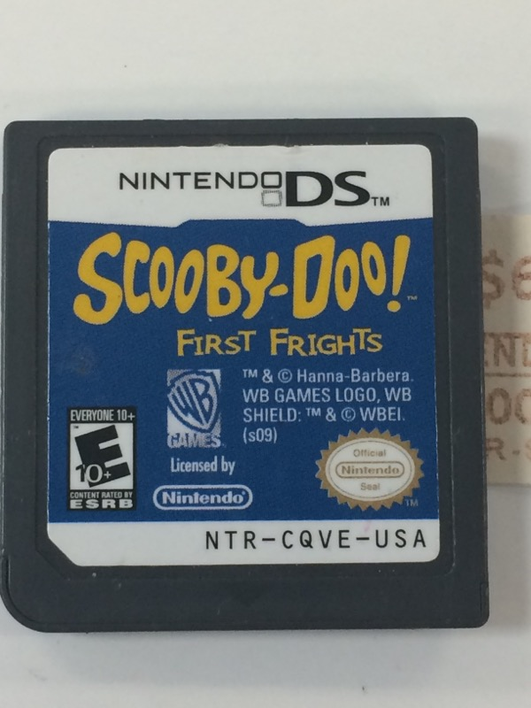 NINTENDO Nintendo DS Game DS SCOOBY DOO FIRST FRIGHTS